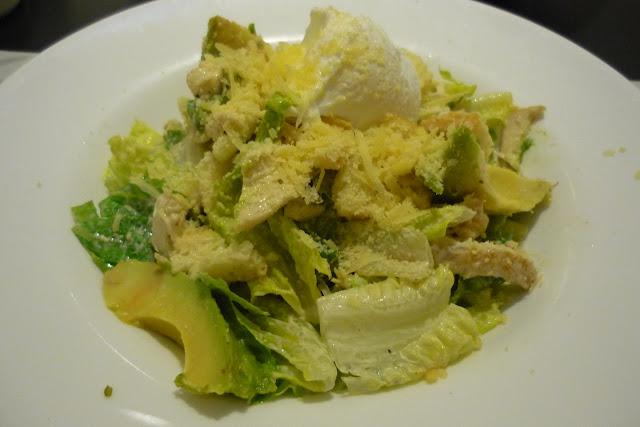 Roast Chicken, Avocado, Caesar, Poached Egg