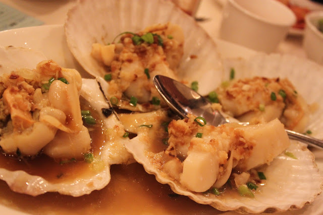 Steamed Japanese Scallops