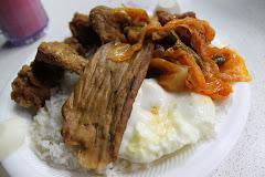 Singapore Breakfast Chong Pang Nasi Lemak