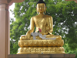 Click on Buddha pic to watch video on buddha garden, Delhi
