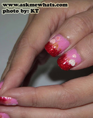 Nail Art Tutorial: Easy Breezy Valentines Day Nails.