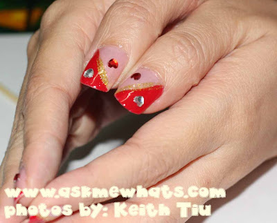 "Nail Art Tutorial: ""Queen of Hearts"" Nails"