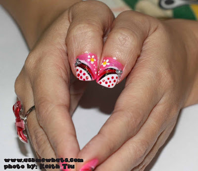 Nail Design & Nails art for long Nails Of course not all teenagers would