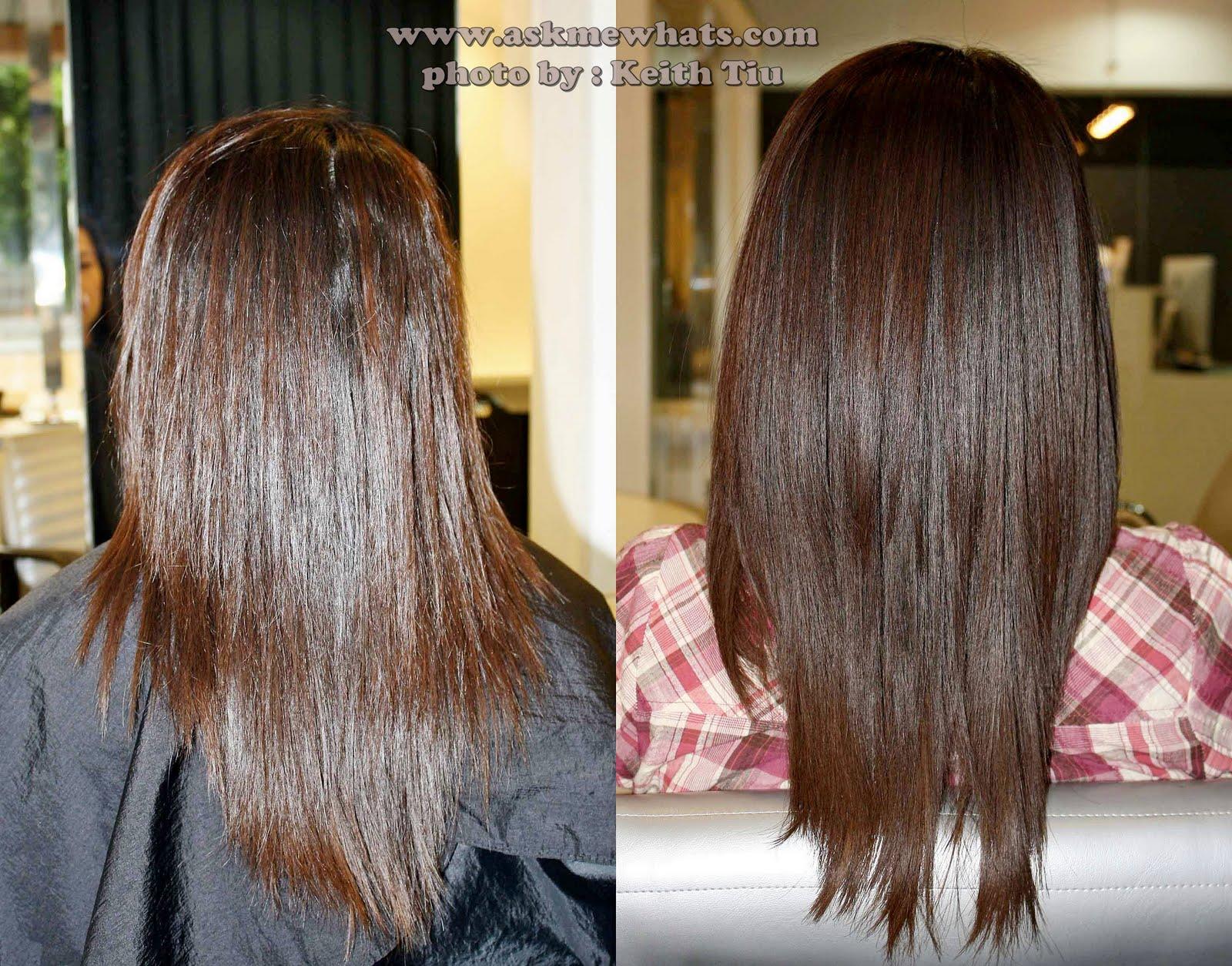 Для чего делают ламинирование волос фото до и после