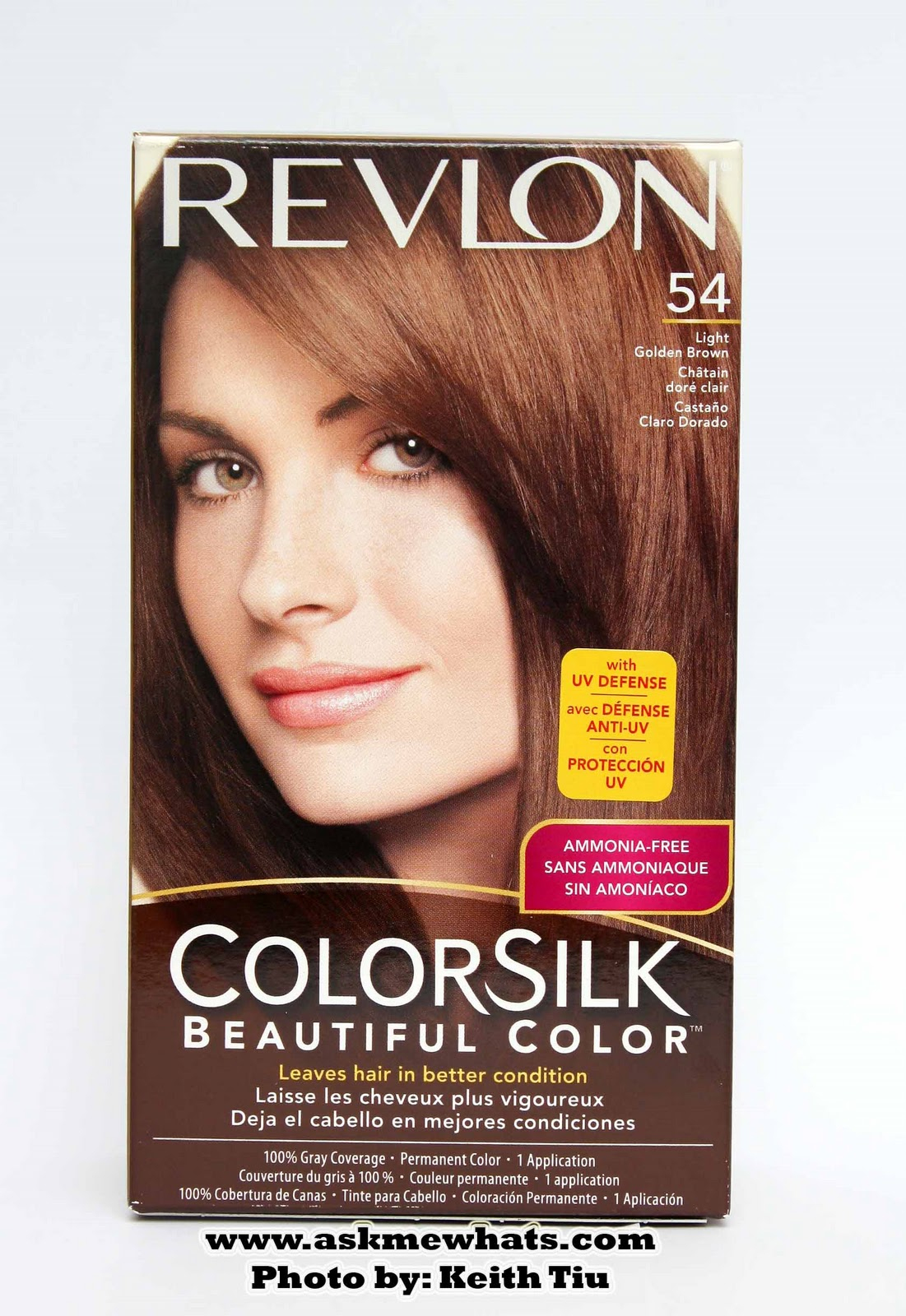Light Brown Hair Color Box