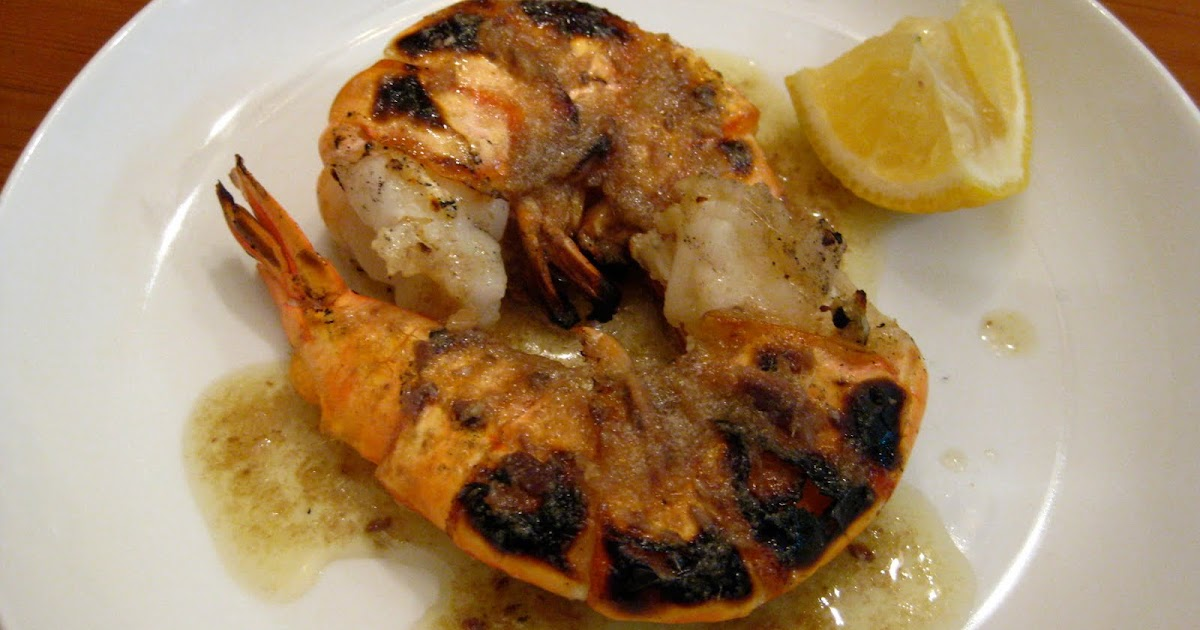 Taste of Home Cooking: Grilled Shrimp with Anchovy Butter