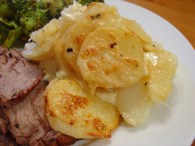 Au graten potatoe recipe