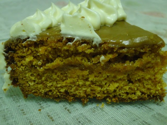 Faji S Hot Pot Caramel Cake With Butterscotch Icing