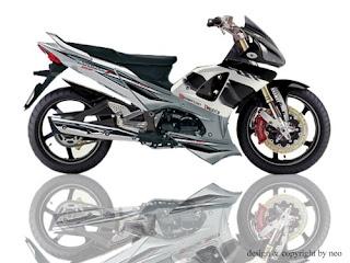 Modifikasi Honda Supra X 125