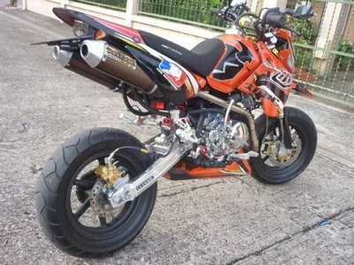 Modification Motor KAWASAKI KSR Sportbike