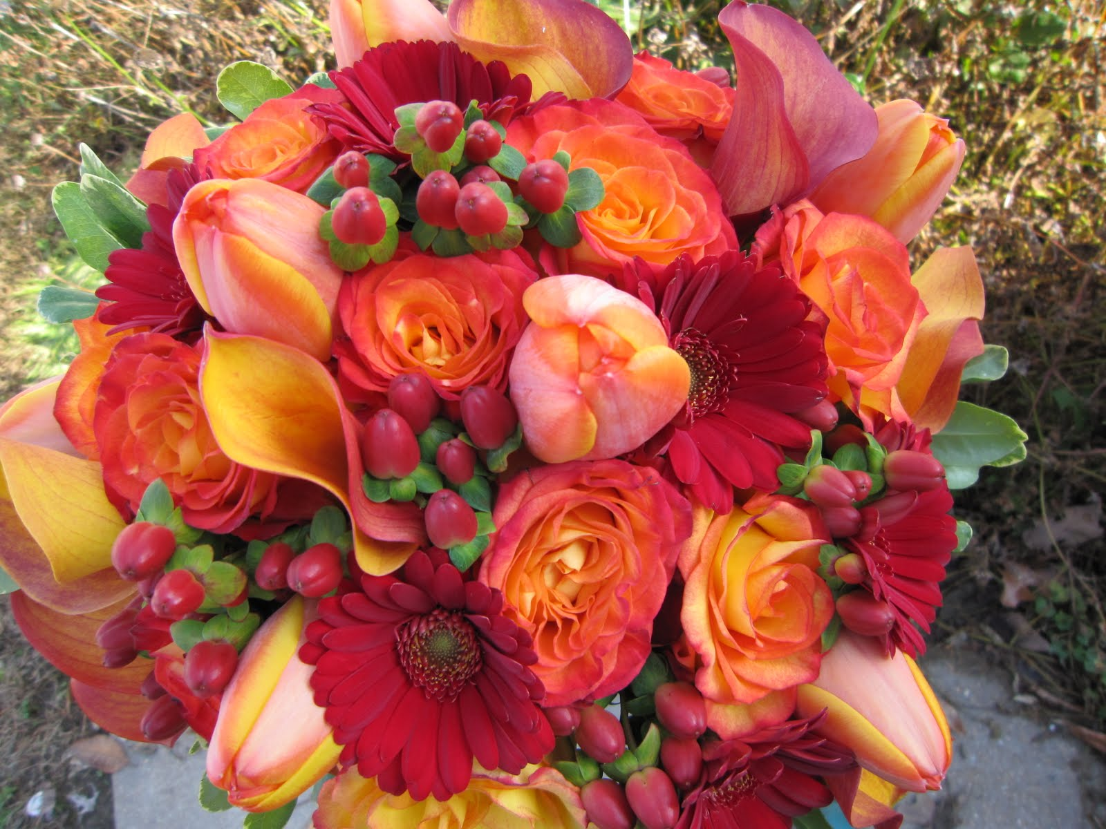 Best wedding design lush fall colors for Popular fall flowers