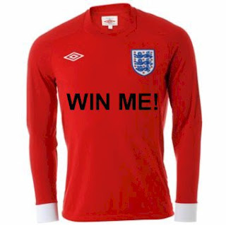 Win This England Shirt!
