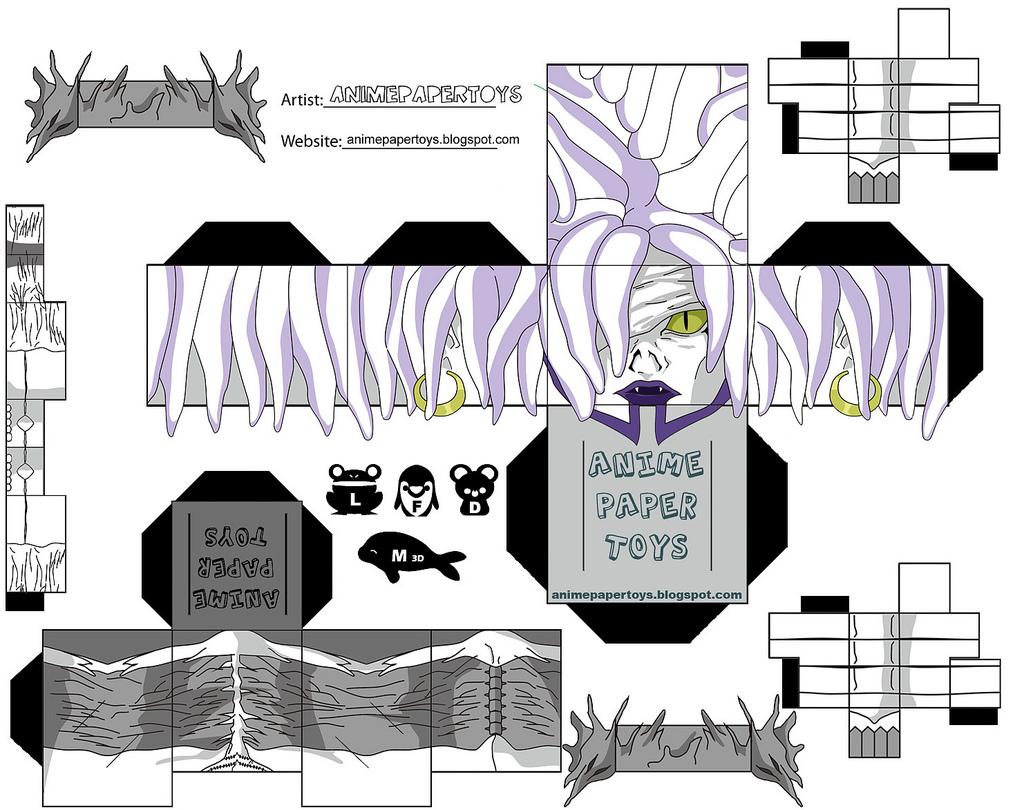 Famosos Death Note: Bonequinhos 3D RT85