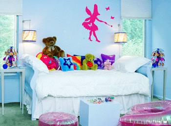 decoração de quarto de criança pequeno