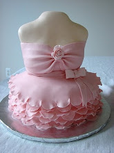 of cakes and dresses