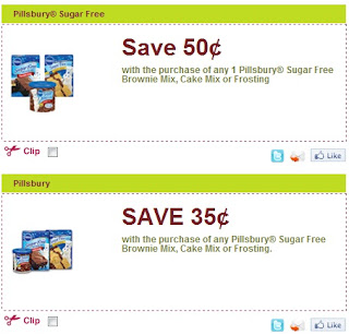 Pillsbury Cake Mix Coupons