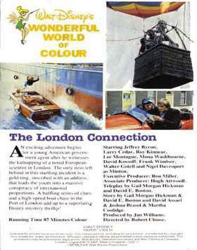 Contacto en Londres, Disney, Robert Clouse, The omega connection, The London connection