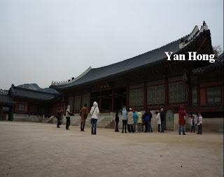 南韩首尔景福宫