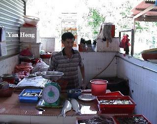 马六甲万里茂菜市场