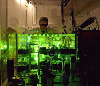 Ultrafast optical shutter is switched entirely by laser light