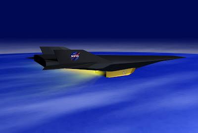 NASA - Hypersonic X-43A Scramjet Aircraft