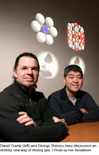 professors David Cramb and George Shimizu