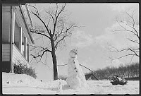 Snowman in Norwich, Library of Congress Prints and Photographs Division, REPRODUCTION NUMBER: LC-USF 33-020726-M2