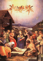 Worship of the shepherds, by Bronzino