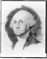 George Washington, head-and-shoulders portrait, Library of Congress, Prints & Photographs Division, [reproduction number, LC-USZ62-105109]