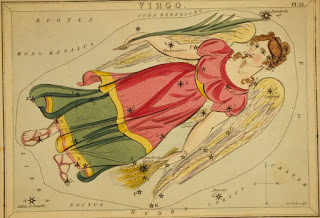 Astrological Signs Virgo, Credit Line: Library of Congress, Prints & Photographs Division, [reproduction number, LC-USZC4-10067]