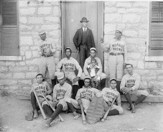 Baseball Negro Leagues, Morris Brown College. Credit Line: Library of Congress, Prints &amp; Photographs Division, [reproduction number, LC-USZ62-114266] 