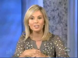 Elisabeth Hasselbeck pregnant with second child, vidcap from the view 1