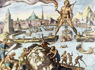 Seven Wonders of the World Colossus of Rhodes