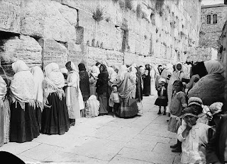 Western Wall Wailing Wall, Credit Line: Library of Congress, Prints & Photographs Division, [reproduction number, LC-DIG-matpc-05899]