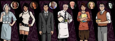 Cast Of Archer
