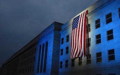 Memorial Day Flag Pentagon
