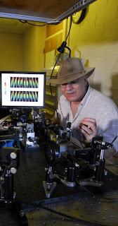 Georgia Tech physics professor Rick Trebino