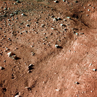 ground near NASA's Phoenix Mars Lander