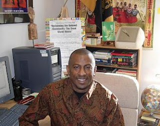 Derrick Hudson, assistant professor of African and African American Studies at Metropolitan State College of Denver