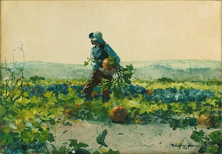 Winslow Homer For to Be a Farmer's Boy