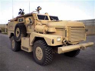 Mine Resistant Ambush Protected vehicle (The Cougar)