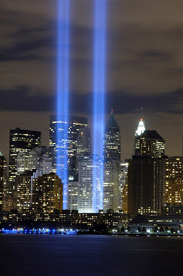 World Trade Center 911 Tribute in Light