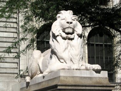 New York Public Library Lions Fortitude