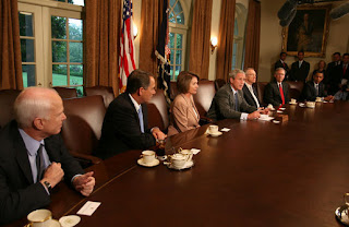 President Bush Meets with Bicameral and Bipartisan Members of Congress to Discuss Economy VIDEO PODCAST