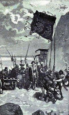 Christopher Columbus Landing at Isabella
