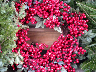 Holly Berry Holiday Wreath