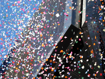 New Year's Times Square Confetti