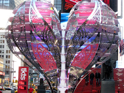 Times Square Valentine's Heart
