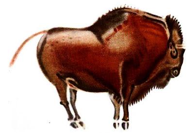 Bison Paleolithic Altamira Cave Art