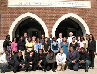 Participants in the Fisk-Vanderbilt Masters-to-PhD Bridge Program